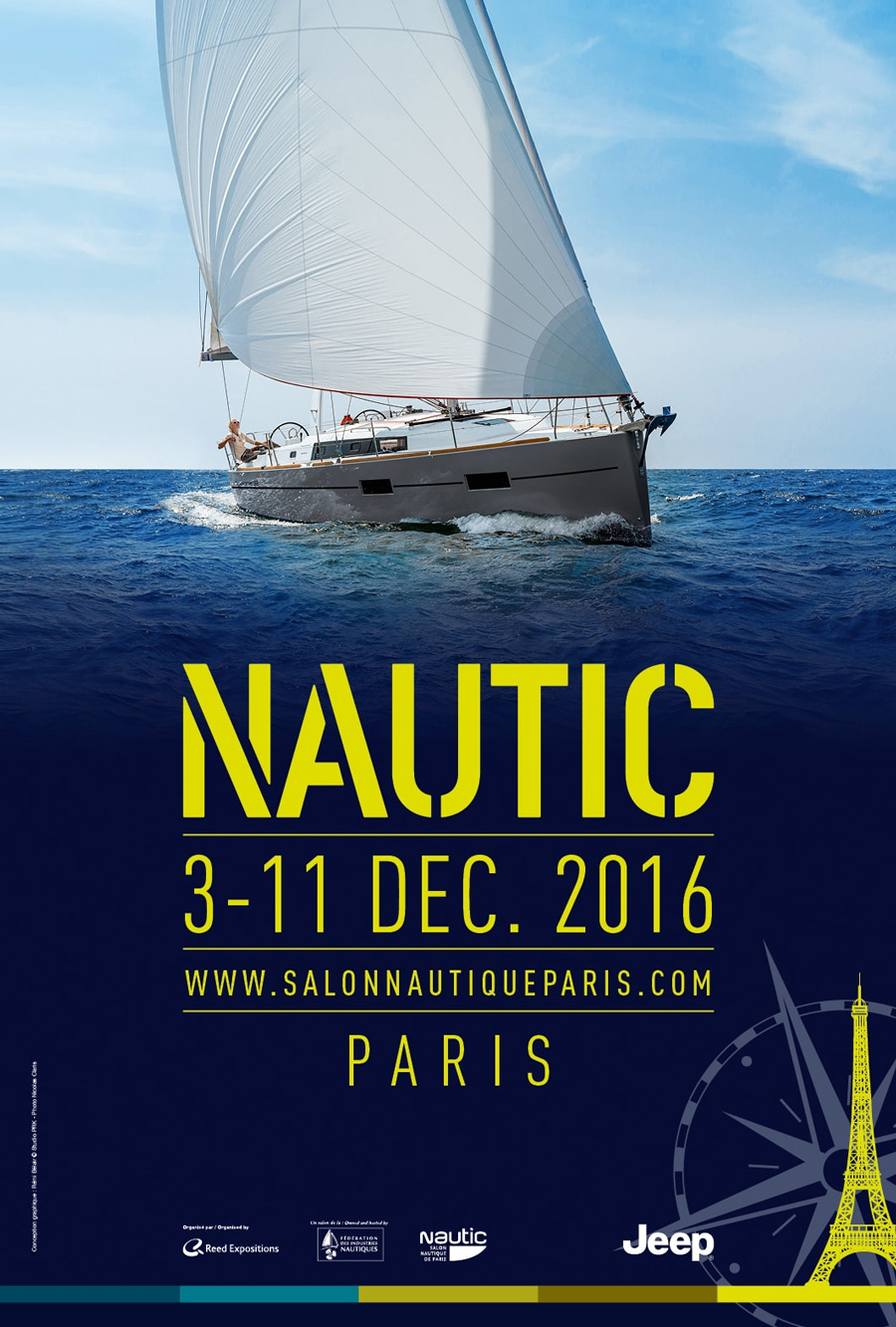 Salon nautique de paris 2016 metalu for Salon bio paris 2016