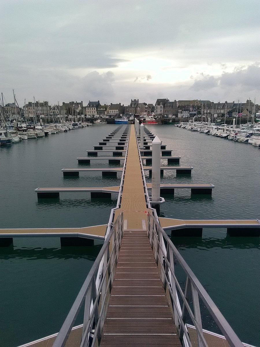 Aménagement et remplacement de pontons plaisance