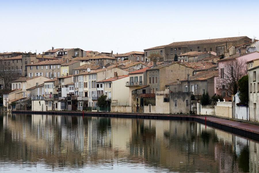 Castelanaudary - Passerelle piétonne flottante